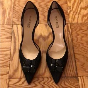 Anne Klein satin pumps